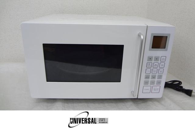 東芝TOSHIBA 無印良品 電子レンジM−E10B白2011年製