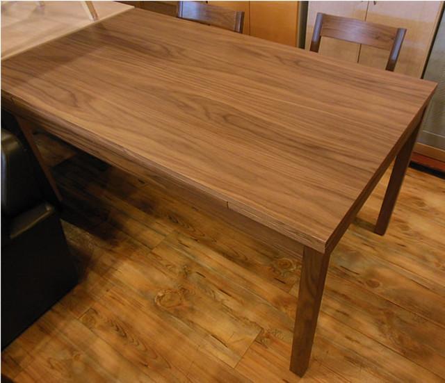 無印良品 ウォールナット材 エクステンションテーブル