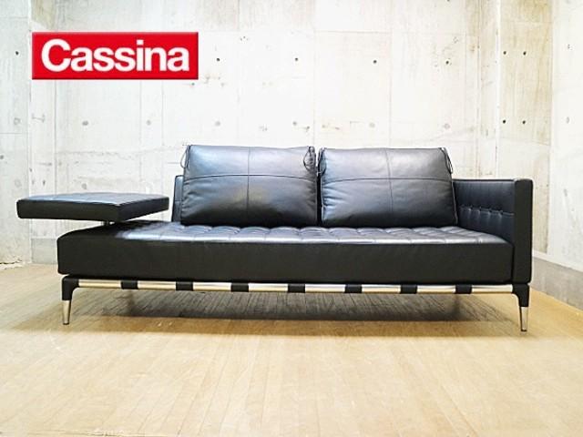 【Cassina】カッシーナ PRIVE プリヴェ 2人掛けワイドソファ