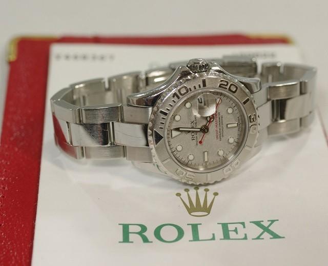 low priced 76a95 9ff05 ロレックス ROLEX ヨットマスター レディース 169622 Y番 ...