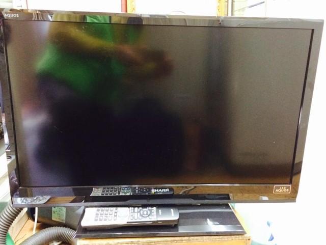 テレビ シャープ lc-32h7 2012年製