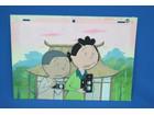 サザエさん 7年目放送記念 セル原画