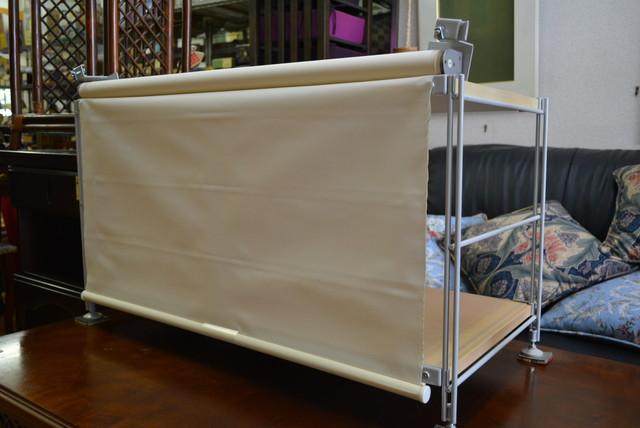 無印良品 スチールユニットシェルフ用ロールカーテン