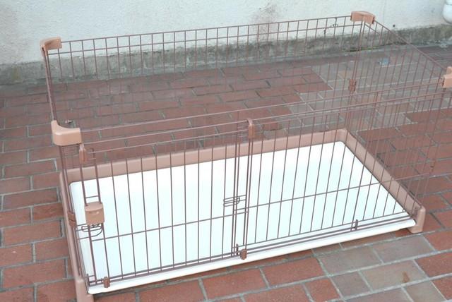ペットゲージ 中古美品 小型犬用 118×59cm