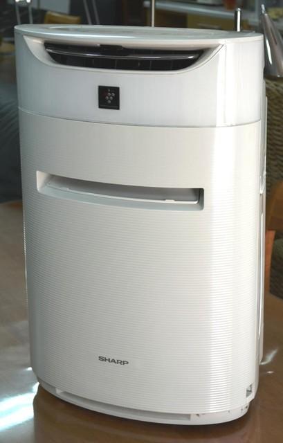 SHARP 高濃度プラズマクラスター25000搭載 加湿空気清浄機 ホワイト KI-DX50 201