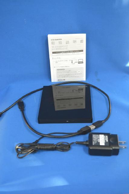 アイオーデータ ポータブルBDドライブ EX-BD03K 美品