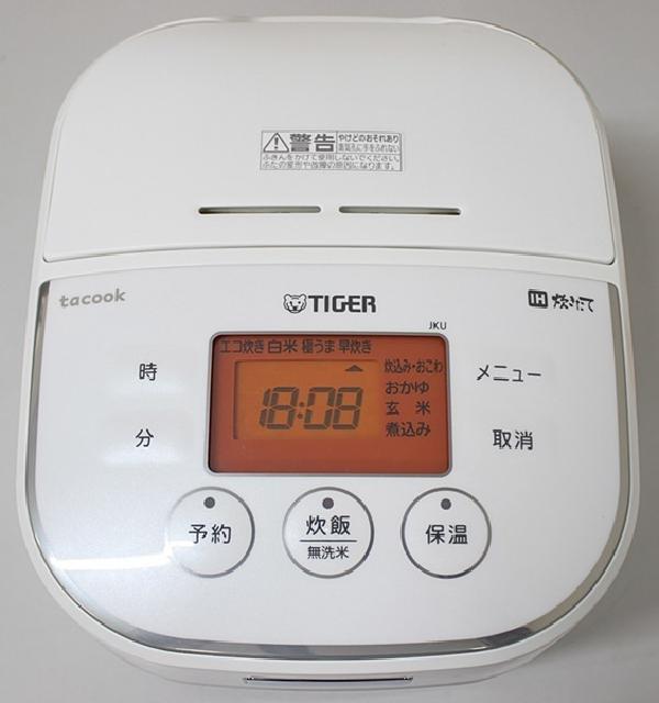 TIGER タイガー IH炊飯ジャー tacook JKU-A551