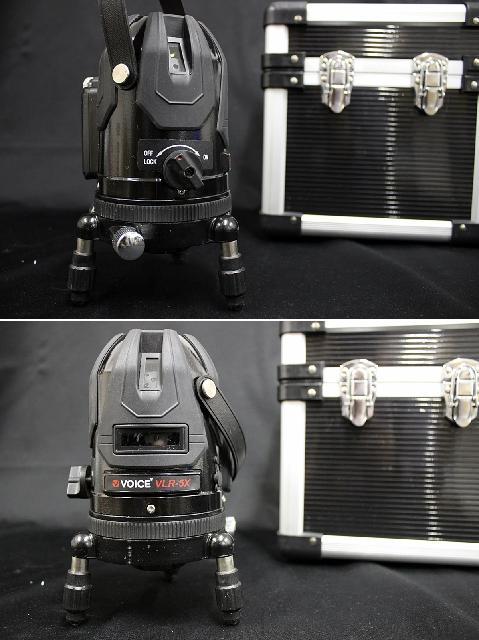VOICE VLR-5X レーザー墨出し器セット 5ライン