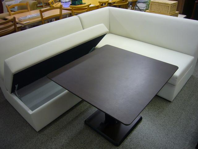 昇降テーブル収納ベンチダイニングセットテーブルの買取価格 Id