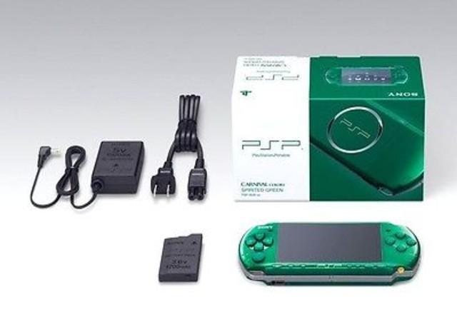 【高額買取No.1への挑戦!モノパーク】PSP スピリティッドグリーン
