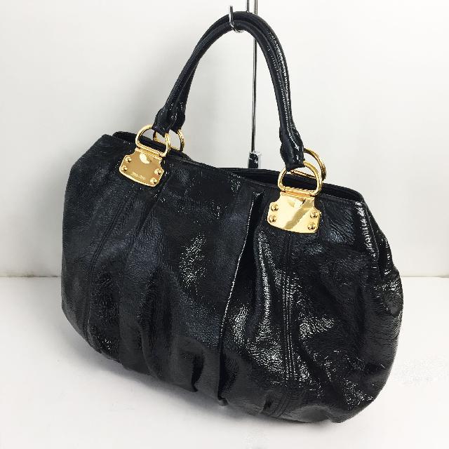 【高額買取No.1への挑戦!モノパーク】miumiu ハンドバッグ