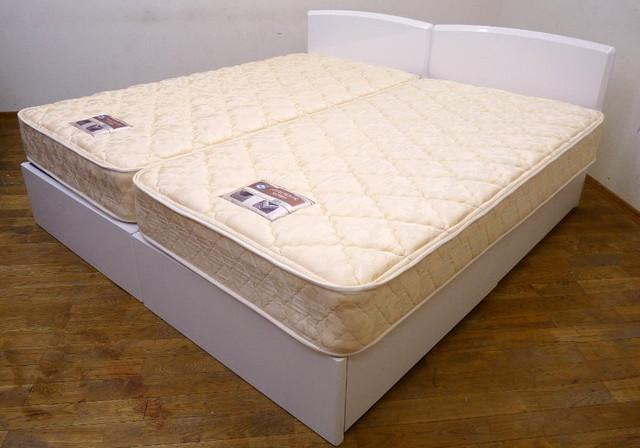シーリー シングルベッド2本
