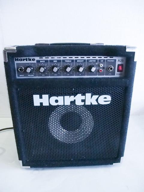 Hartke A25 ベースアンプ BASSAMP 出力:25W RMS