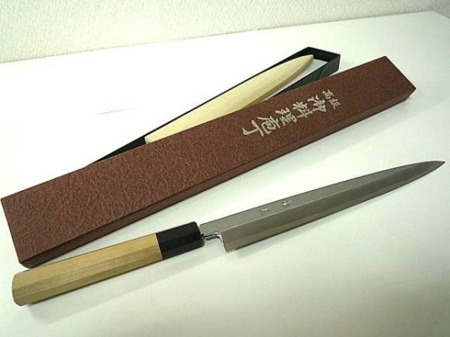 柳刃包丁 240mm 青鋼 高鳳 和包丁 刺身包丁