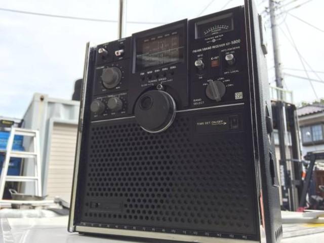 SONY スカイセンサー ICF-5800 故障