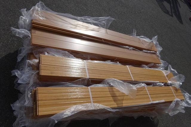 無垢フローリング 22ケース 床暖房用 竹 約11坪相当 箱無し SSD9030