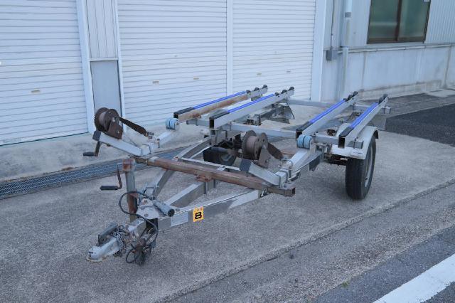 タイトジャパン MAX ボートトレーラー シングル2艇積み 最大積載量350kg