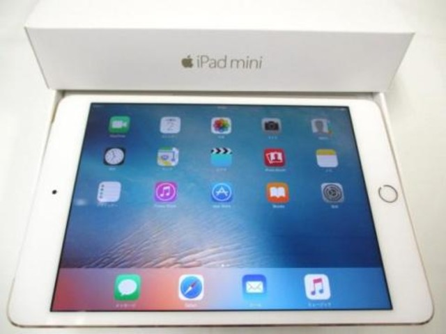 iPad mini4 Wi-Fi Cellular MK712J/A