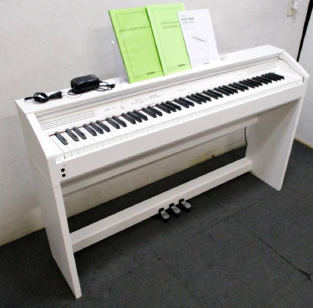 CASIO  カシオ  Privia プリヴィア 電子ピアノ デジタルピアノ PX-760WE