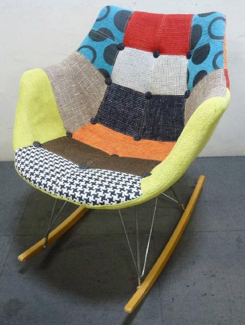 ロッキングチェア デザインチェア 椅子 イス 一人掛け