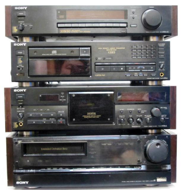 カセットデッキ TC-K333ESL AM/FMチューナー ST-S333ESG CDデッキセット