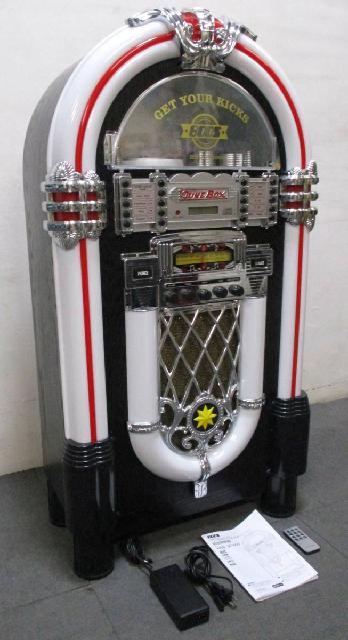 BOOS ジュークボックス風 音楽プレイヤー HNB-JX1000 動作良好品