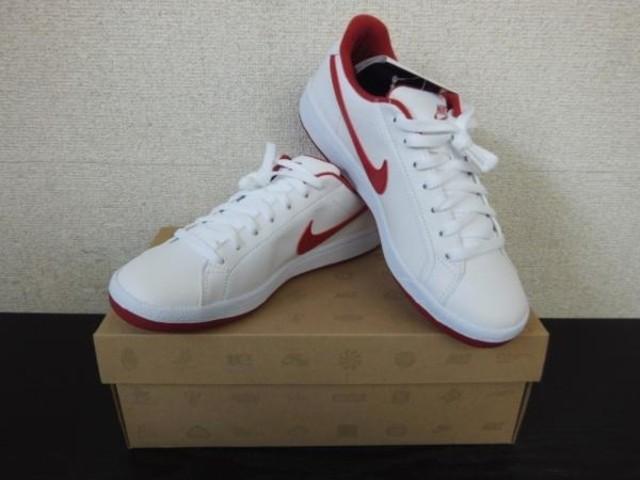 dividir Vinagre Entretener  NIKE MAIN DRAW SL メインドロー 白×赤 24.5cm(靴・ブーツ ...