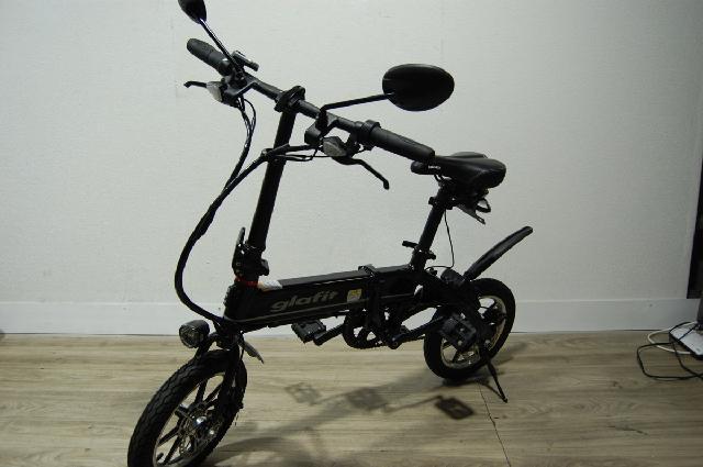 Glafit 電動バイク GFR-01 中古 折りたたみ 畳み グラフィット 黒 ブラック