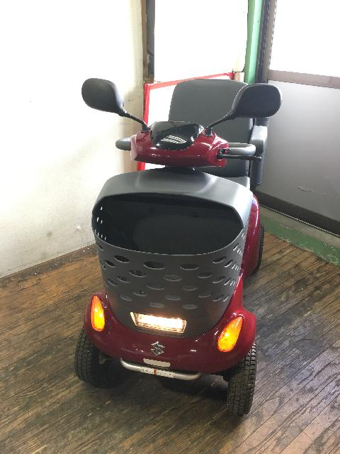 車椅子 シニアカー電動カート ET4D7 2017年購入 SUZUKI スズキ