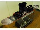 美品HEAD ヘッド スノーボード154cm・ビンディング・ブーツ25cm 3点セット PRISON