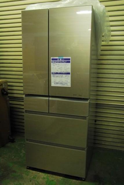 未使用2016パナソニックNR-F602XPV-N 601L 6ドア冷蔵庫 [エコナビ nanoe(