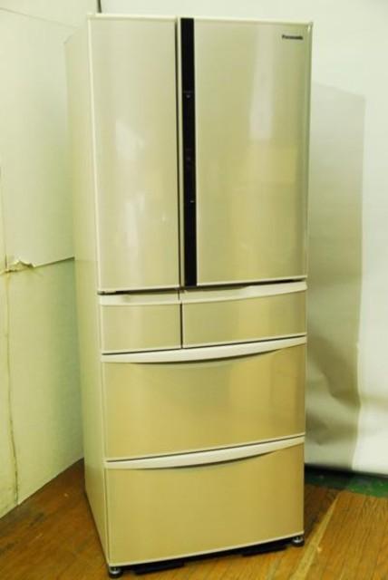 美品2015パナソニック NR-F472V-N 470L 6ドア冷蔵庫