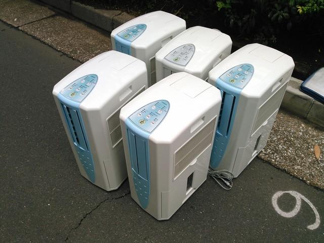 冷風機5台