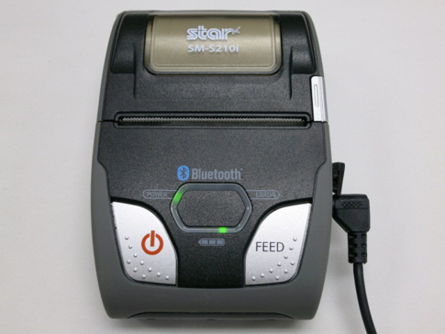 Star スター機密 モバイルプリンター SM-S210i