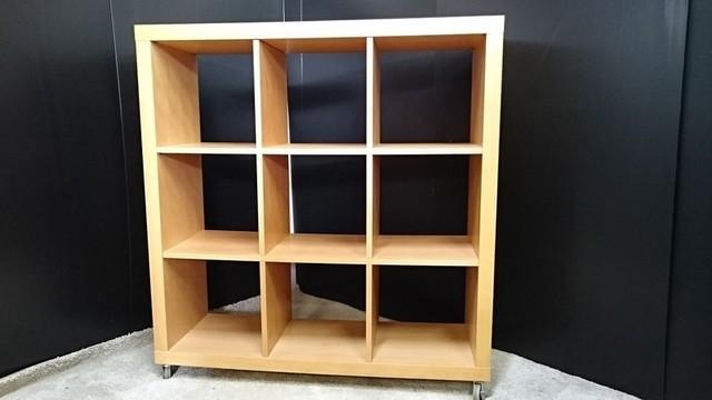 無印良品 MUJI オープンシェルフ 本棚 キャスター付き 廃盤