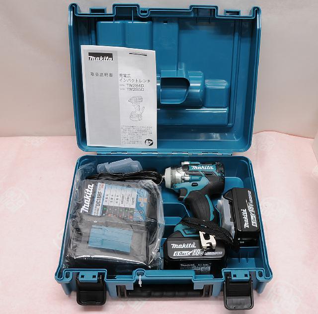 マキタ 充電式インパクトレンチ TW285DRGX 18V セット