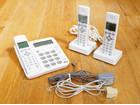 美品シャープ コードレス電話機 JD-GE5…