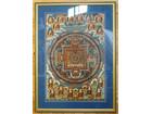 宗教画 チベット仏教 仏画 額装 仏教美術