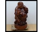 七福神 布袋尊 立像 木彫り 置物 木製彫刻…