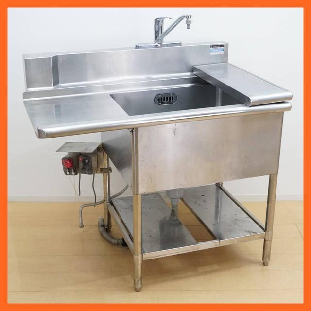 厨房機器 作業用 シンク 流し台 作業台 ステンレス