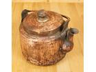 銅製 薬缶 湯沸し 水注 打出 昭和レトロ