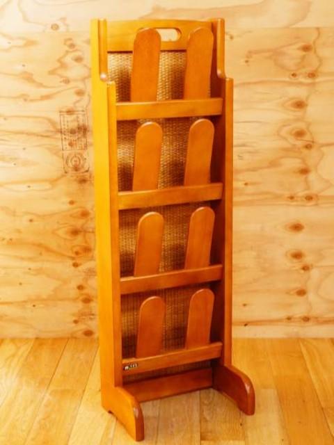 カリモク スリッパラック 4段 玄関収納 家具