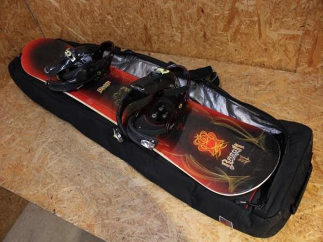 BURTON バートン BARON 57 スノーボード ビンディング付 カナダ製 GIRO 中古