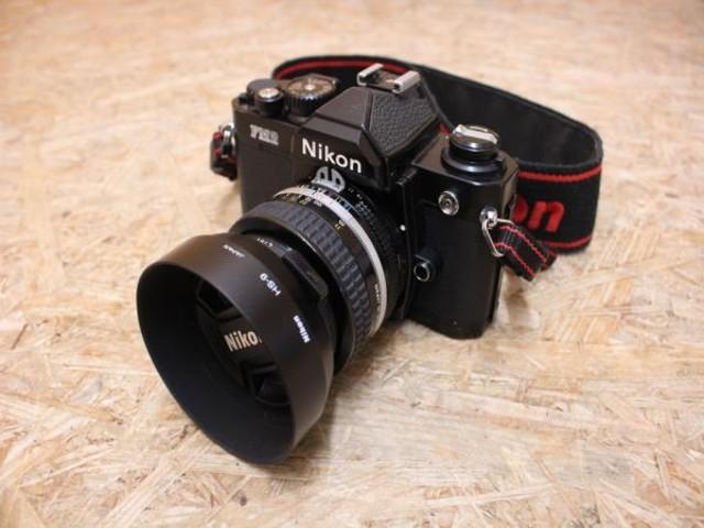 Nikon ニコン FM2 フィルム カメラ 50mm 1:1.4 レンズ付き ジャンク