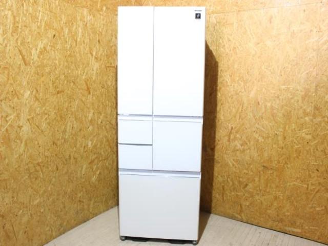SHARP 6ドア冷蔵庫 SJ-GT48C 2017年製 フレンチドア  480L プラズマクラスタ