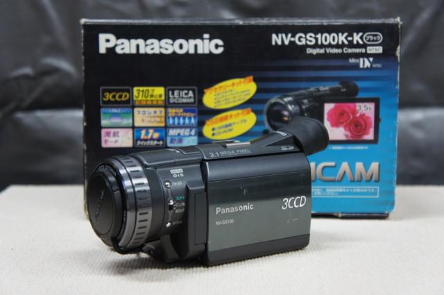 Panasonic パナソニック ビデオカメラ NV-GS100K
