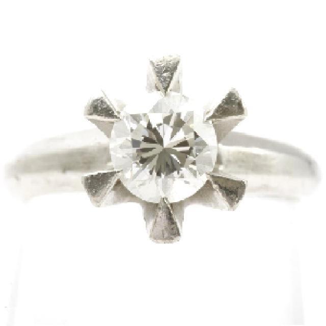 プラチナ台ダイヤモンドリング