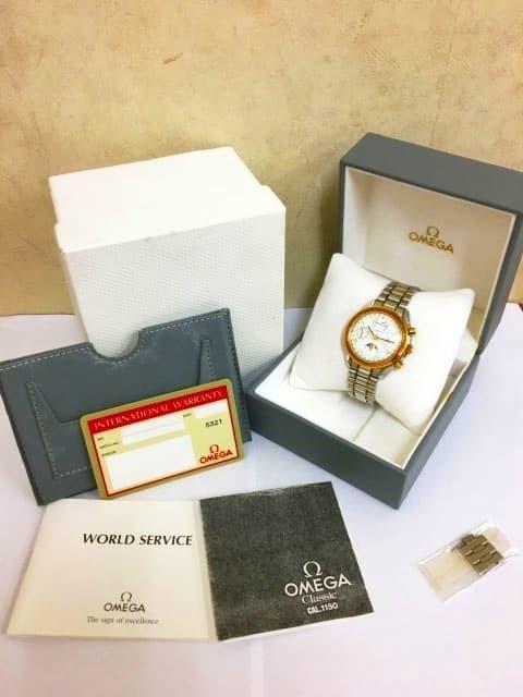 OMEGA 腕時計 スピードマスター サン&ムーン