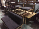 カリモク ベンチダイニングセット テーブル高さ2段階調整