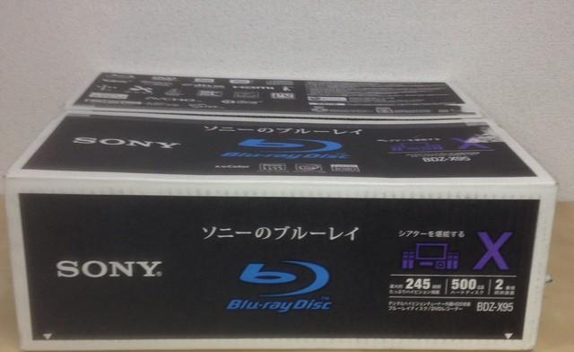 SONY ブルーレイ BDZ-X95